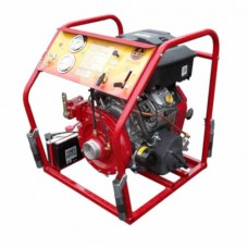 CET PFP-18HPVGD-1D-CE High-Volume Fire Pump with Full Control Panel